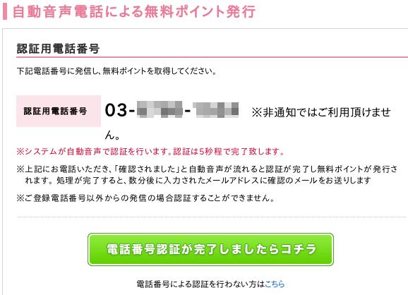 電話での自動音声認証(2)